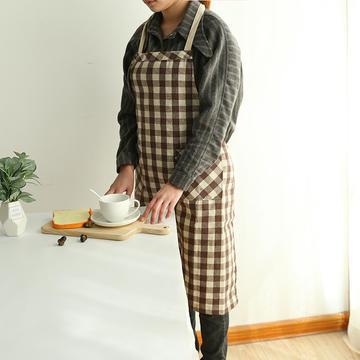 2019新款围裙(格子)