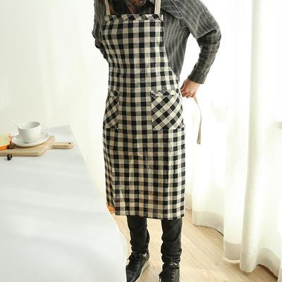 2019新款围裙(格子) 75*85cm 绿格