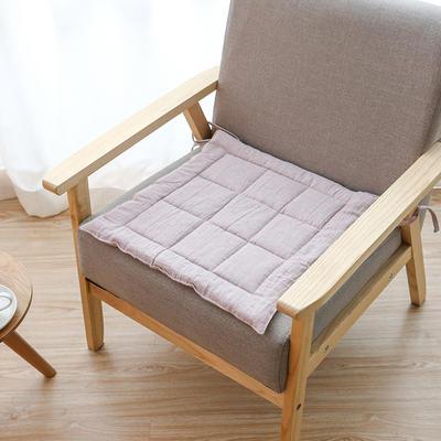2019新款棉麻坐垫 45x45cm 粉