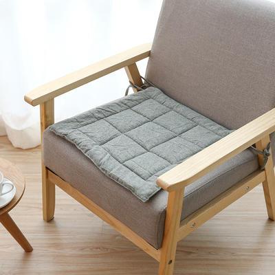 2019新款棉麻坐垫 45x45cm 绿