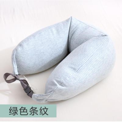 2019新款颈枕腰枕 绿色15.5*65cm
