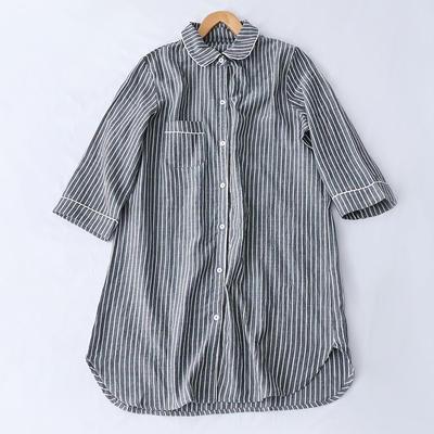 2019新款双层纱睡裙 XL码 灰