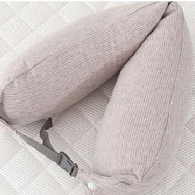 2019新款乳胶颈腰枕 粉色15.5*65cm