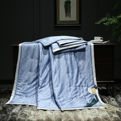 2019新款莫代尔夏被 150x200cm 玛瑙蓝