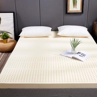 2020新款泰国天然乳胶床垫含内外套可拆洗 90*200 平板款(7.5cm)