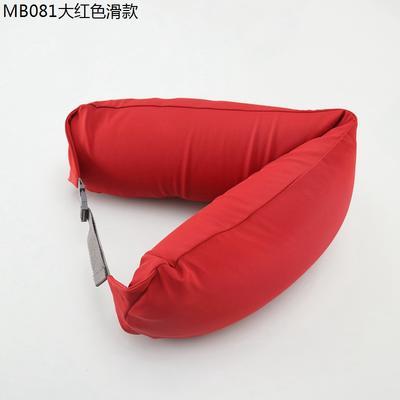 2019新款u型枕 大红色滑款 约16.5*67CM