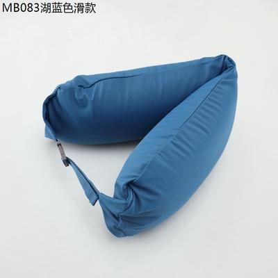 2019新款u型枕 湖蓝色滑款 约16.5*67CM