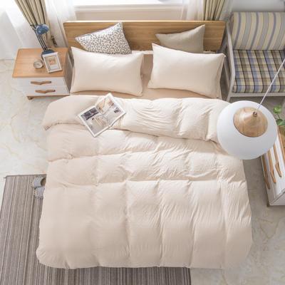 2019新款针织棉天竺棉四件套 1.2m床床单款 1-彩棉细条