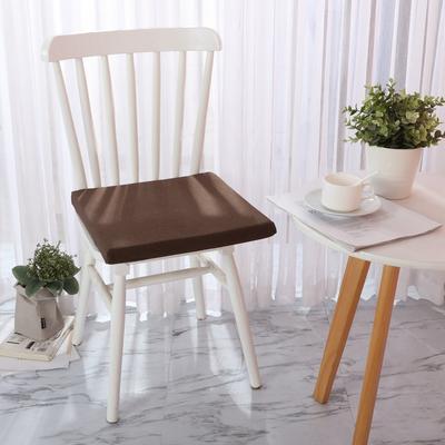 20191新款方坐垫 39*39cm 咖啡色