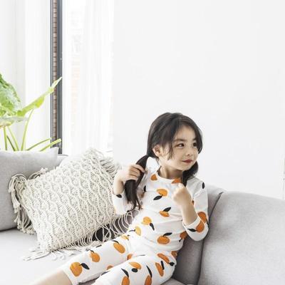 2019新款-家居服儿童款 100码 枇杷