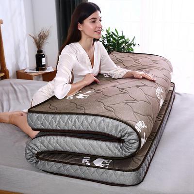 2019新款乳膠海綿床墊(駱駝款) 0.9*2.0m 駱駝棕6cm