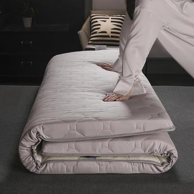 2019新款硬質棉床墊(畫格款) 0.9*2.0m 畫格-灰-1