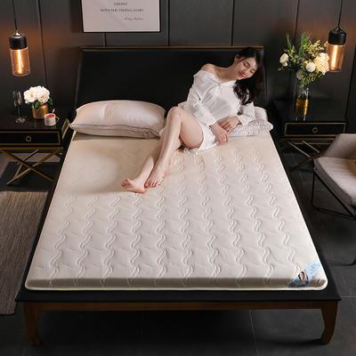 2019新款硬质棉床垫(清风款) 0.9*2.0m 清风-白