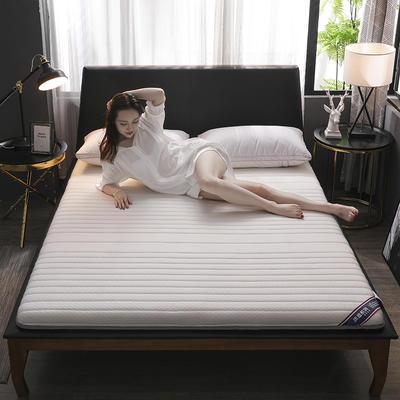 2019新款乳膠硬質棉床墊(優雅款) 0.9*2.0m 優雅白