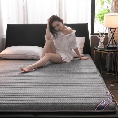 2019新款乳膠硬質棉床墊(優雅款) 0.9*2.0m 優雅灰