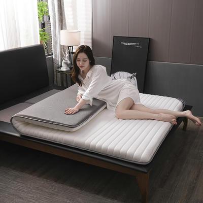 2020新款乳膠海綿床墊單邊(夢格款) 0.9*2.0米 夢格白(6cm)