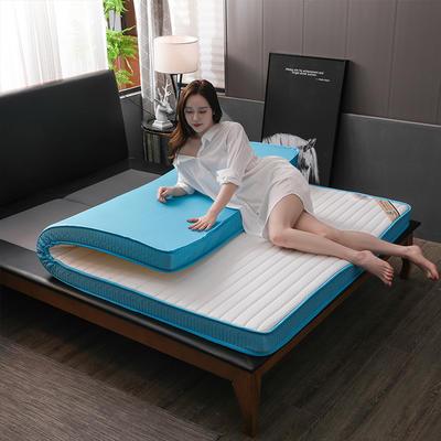 2020新款乳膠海綿床墊立體(清夢款) 0.9*2.0米 清夢-白(6cm)