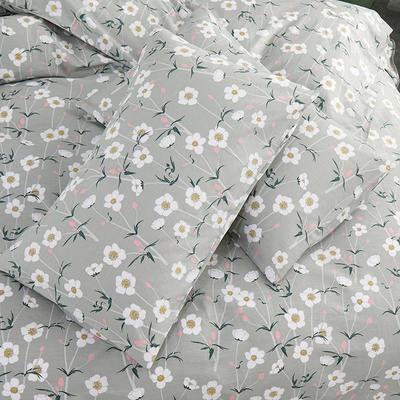 2019新款全棉-单枕套 48cmX74cm一对 陌上繁花