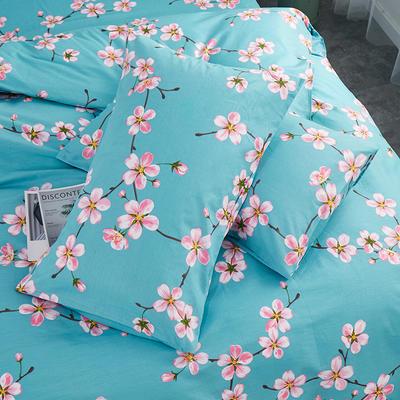 2019新款全棉-单枕套 48cmX74cm一对 幽香私语