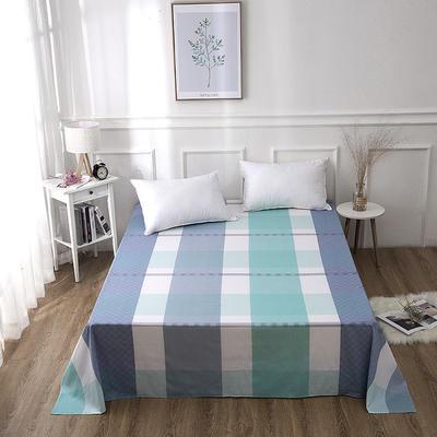 2019新款全棉-单床单 130*230CM 洛拉斐尔-蓝