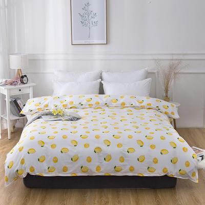 2019新款全棉-单被套 150*200CM 一颗柠檬
