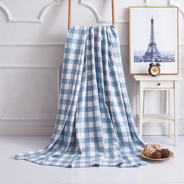 2019新款水洗棉纱布毛巾被