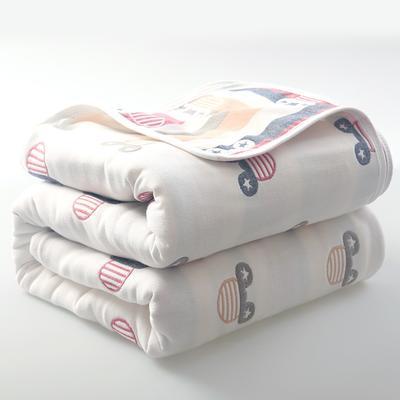 2019新款六层纱布毛巾被 90*100cm 可爱米奇