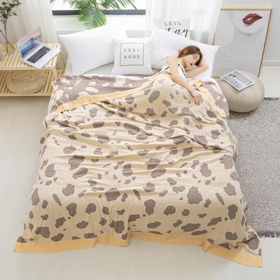 2020新款竹棉盖毯 150*200cm 牛奶黄