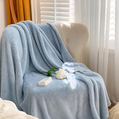 2020新款双面泰迪绒(慕斯系列)—单盖毯/单床单 245cmx250cm 黛月兰