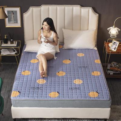 2020新款-磨毛四季床垫(1) 90*200 小桔子
