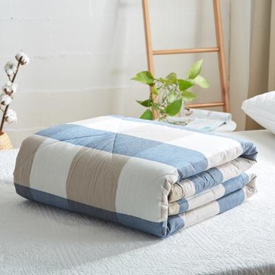 2019新款-可水洗里外全棉棉花被空调被纯棉夏被 单/枕套 独处