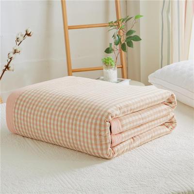 2019新款-可水洗里外全棉棉花被空调被纯棉夏被 单/枕套 初遇