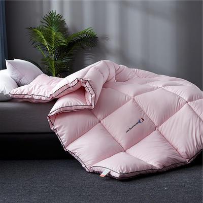 2019新款-刺绣立体冬被被子被芯 150x200cm4斤 仙桃粉立体刺绣