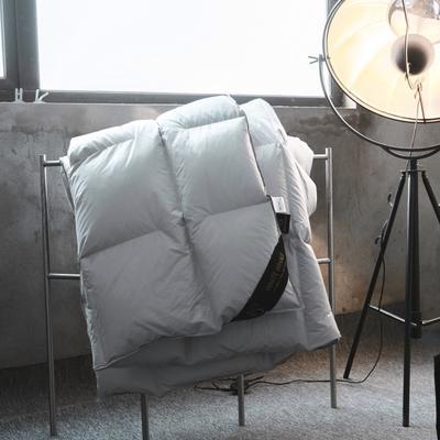 2019新款80柔赛丝系列冬被 200X230cm 柔赛丝无缝切穿-灰色