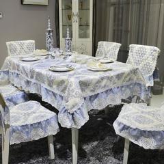 中式餐椅垫桌布 椅垫(椅垫尺寸45*49cm) 欧若拉-兰