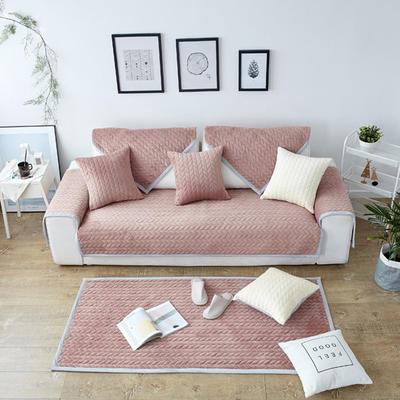 秋冬加厚天鹅绒沙发垫--暖阳系列 70*70cm 咖色