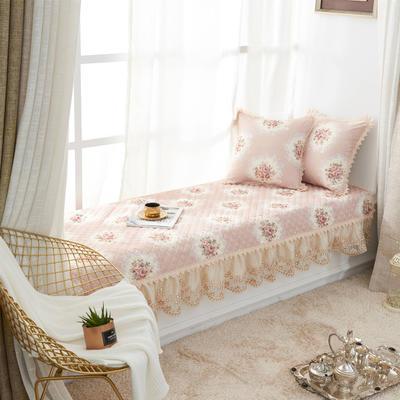 美优兰飘窗垫(花季系列) 45*45抱枕套(不含芯) 花季-驼