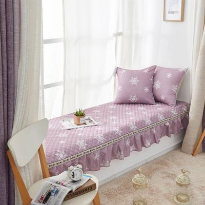 美优兰飘窗垫(素锦系列) 45*45抱枕套(不含芯) 素锦-紫