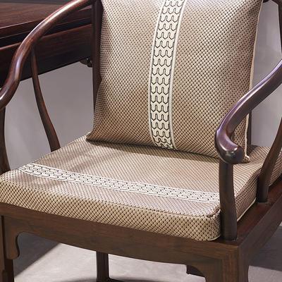 2020-冰藤中式沙发垫终版 45*50*5 冰藤红棕椅垫