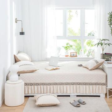 美优兰家纺 榻榻米床单软垫防滑床盖单件夹棉大炕垫 定制