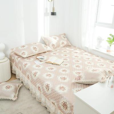 美优兰 榻榻米床单炕套罩北欧床垫软垫防滑床盖单件夹棉大炕垫 定制175cm+17边x200cm 花季驼