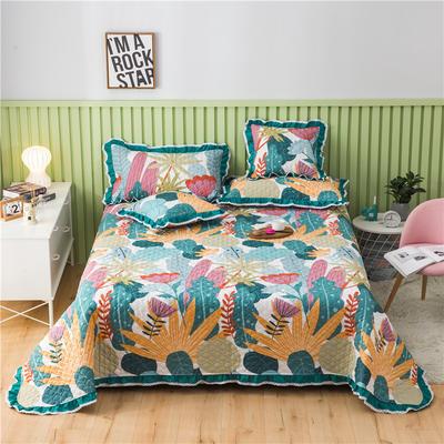 2021全棉床盖系列-床盖 150cmx230cm 花韵