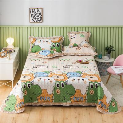 2021全棉床盖系列-床盖 150cmx230cm 萌宠