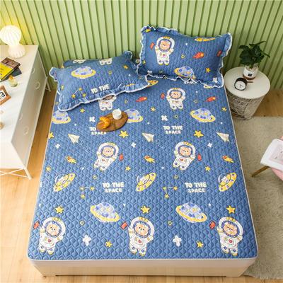 2021全棉床盖系列 -床护垫 120*200 遨游太空