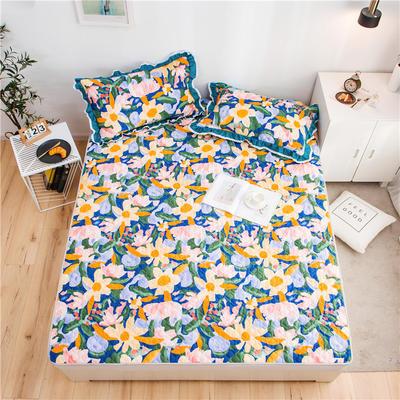2021全棉床盖系列 -床护垫 120*200 花花世界