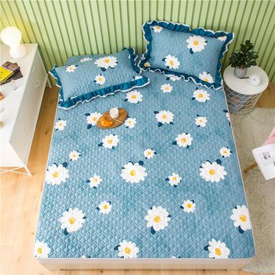 2021全棉床盖系列 -床护垫 120*200 向阳花
