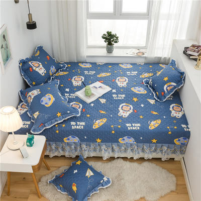 2021全棉床盖系列--榻榻米 215cm+20边*230 遨游太空