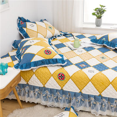 2021全棉床盖系列--榻榻米 215cm+20边*230 梵克