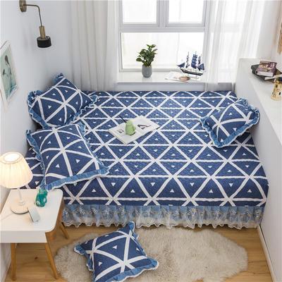 2021全棉床盖系列--榻榻米 215cm+20边*230 米格