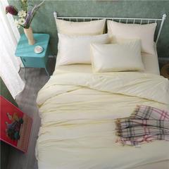 ck家纺  纯色被套枕套 48×74cm/2 米白
